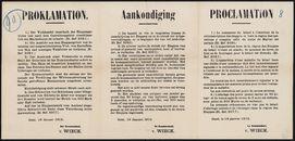 Proklamation | Aankondiging | Proclamation.