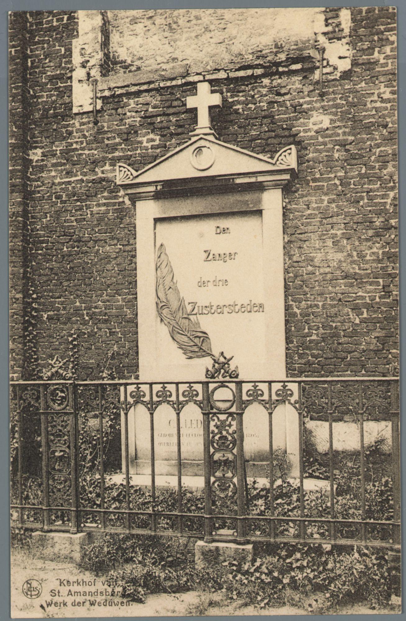 Sint-Amandsberg: kerkhof (Campo Santo)