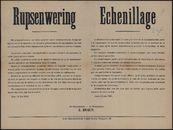 Rupsenwering | Echenillage.