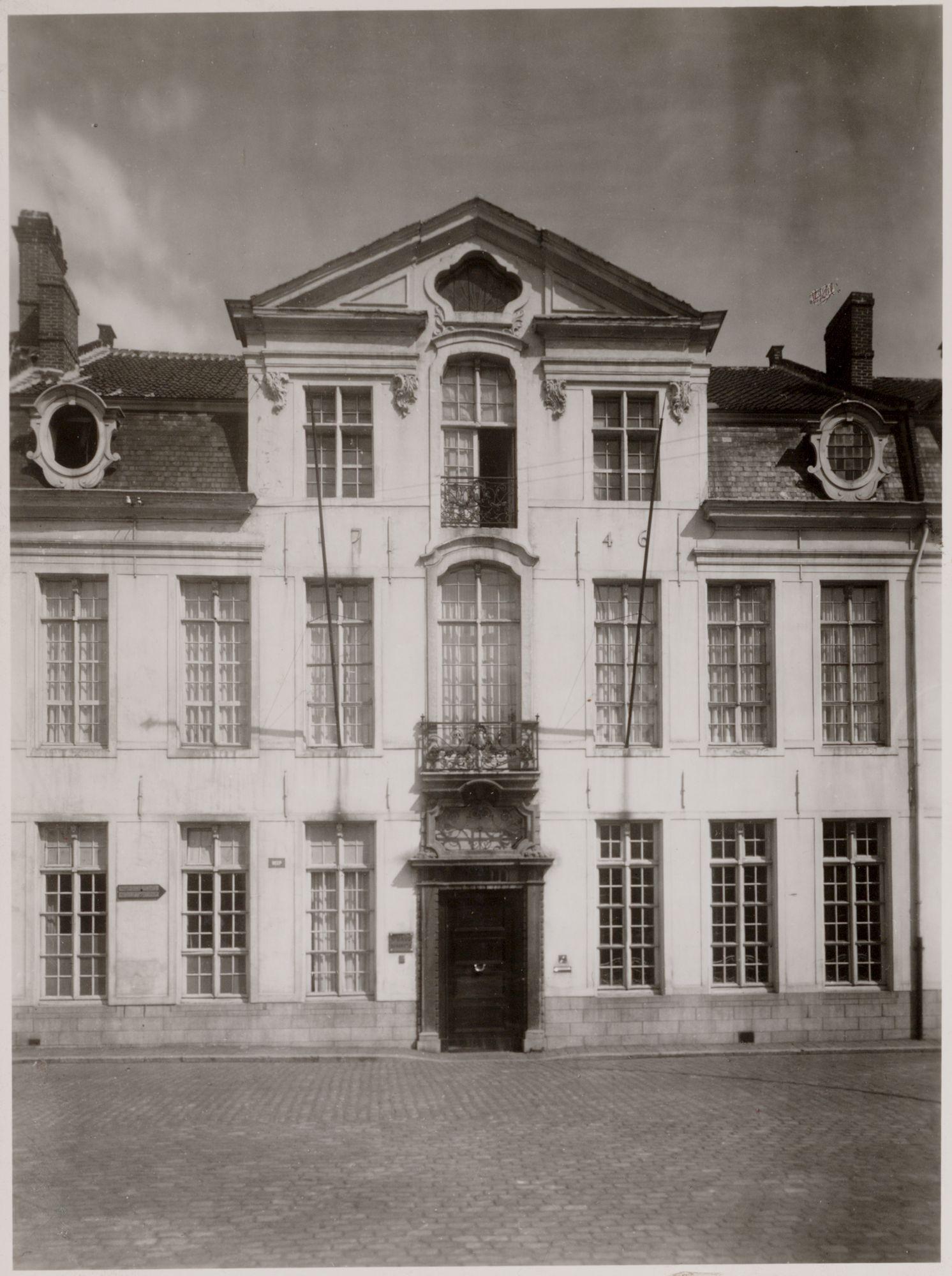 Gent: Hotel van Eersel, Reep