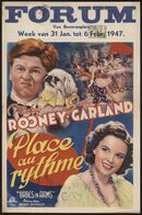Babes in Arms   Place au rythme, Forum, Gent, 31 januari - 6 februari 1947
