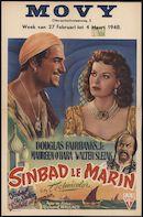Sinbad the Sailor   Sinbad le marin   Sinbad de zeeman, Movy, Gent, 27 februari - 4 maart 1948
