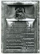 Gent: Sint Pietersplein: Gedenksteen
