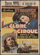 La gloire du cirque   Buffalo Bill. De roem van het circus, Cinema Royal, Gent, 25 - 31 maart 1938