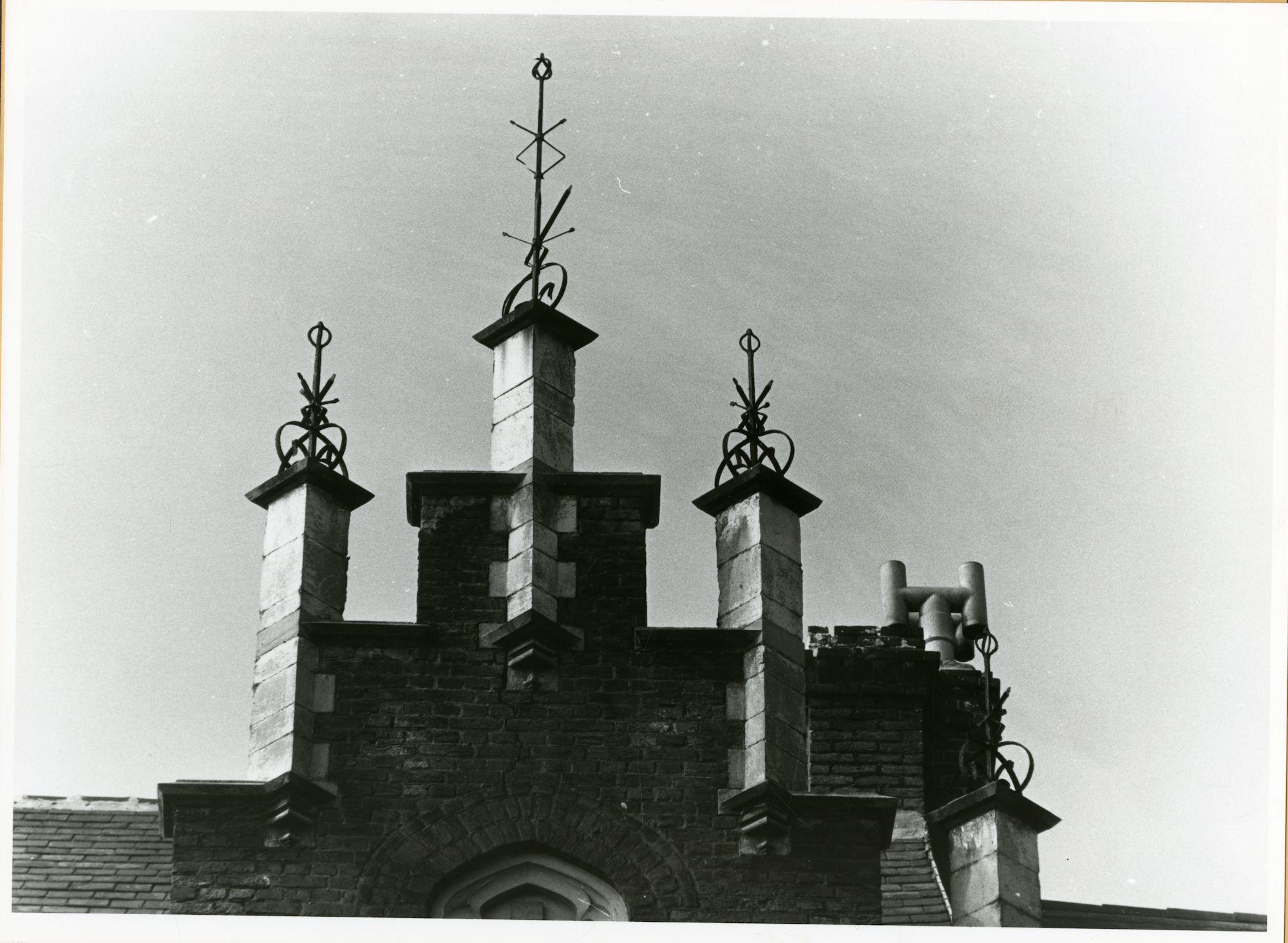 Gent: Martelaarslaan 403: Nokversiering, 1979