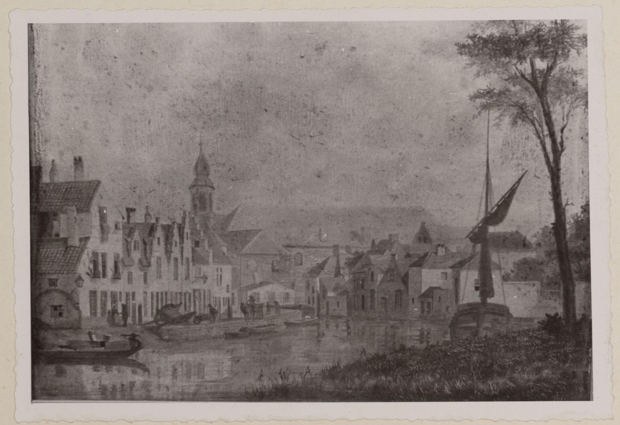 Gent: Tekening van de Lieve
