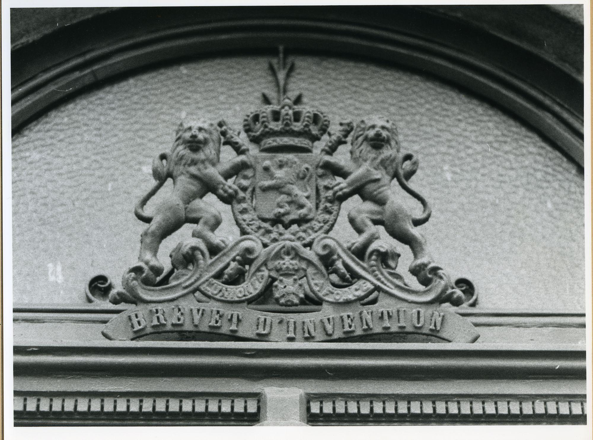 Gent: Oudburg 22: Uithangbord
