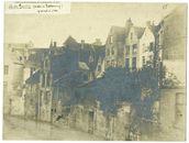 Gent: Oude Houlei Achterzijde Pekelharing, gedempt in 1899