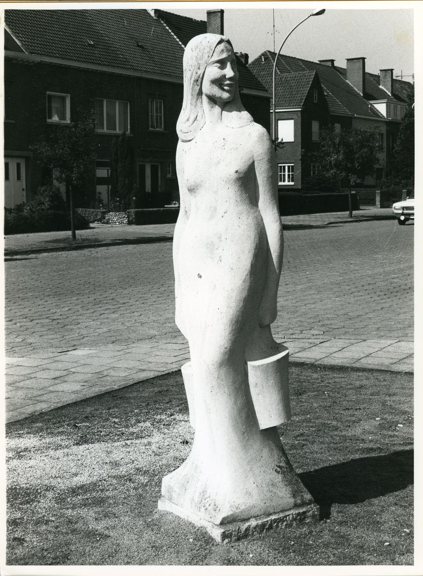 Gentbrugge: Braemkasteelstraat: Beeld, 1979