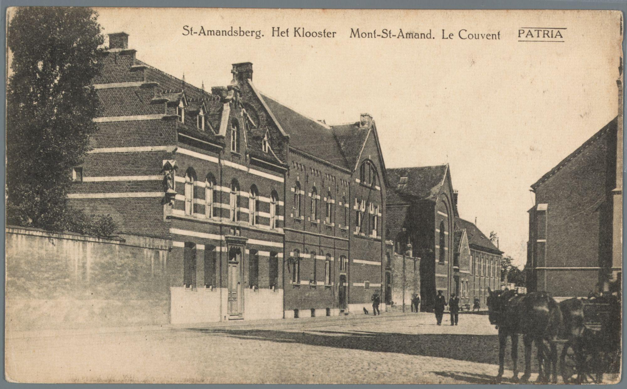 Sint-Amandsberg: school en klooster van de Visitatie