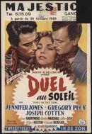Duel in the Sun | Duel au soleil | Tweegevecht in de zon, Majestic, Gent, oktober 1949