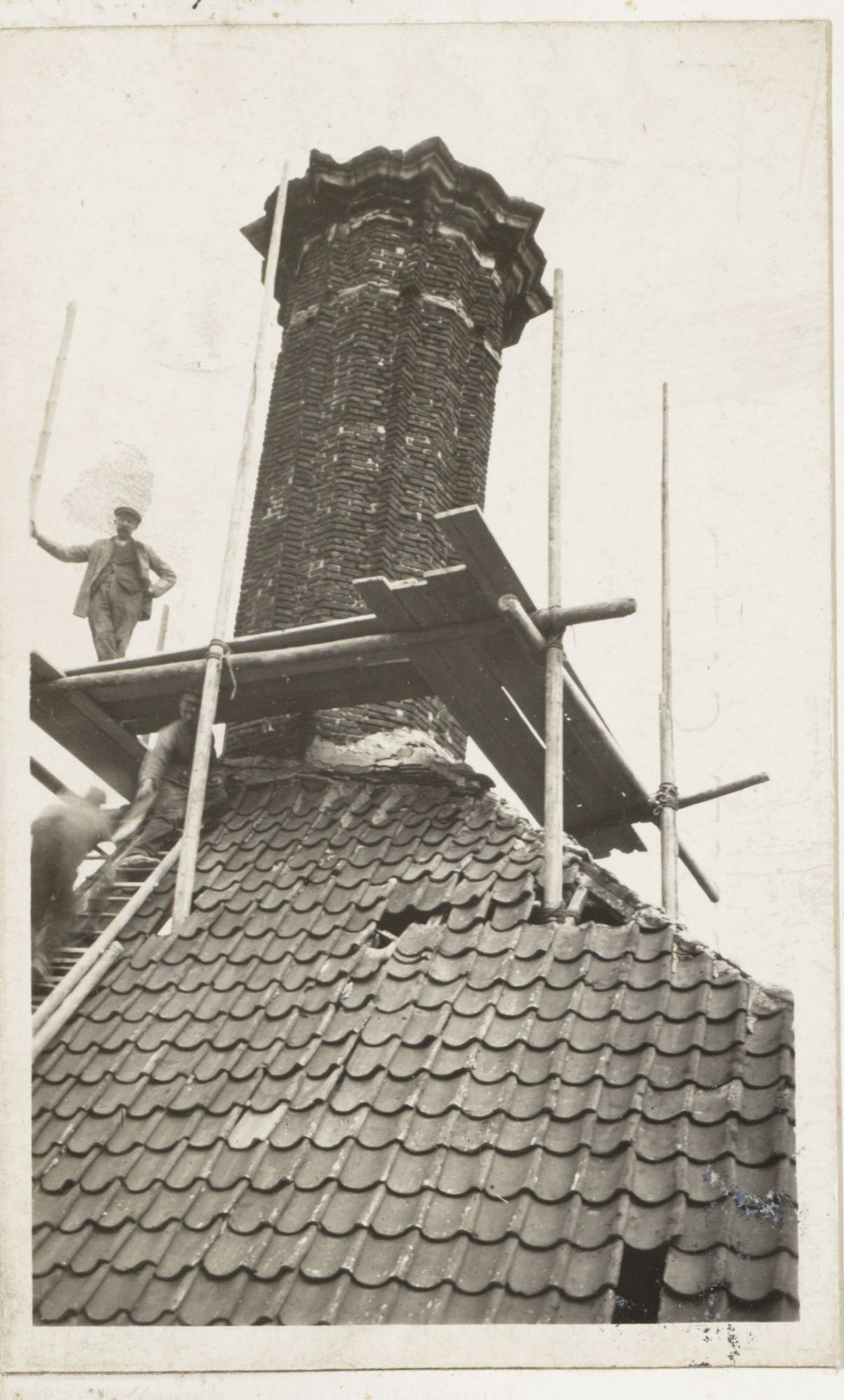 Gent: Dak en schoorsteen, Minnemeers