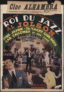 Roi du Jazz Al Jolson, Alhambra, Gent, 17 - 23 februari 1939