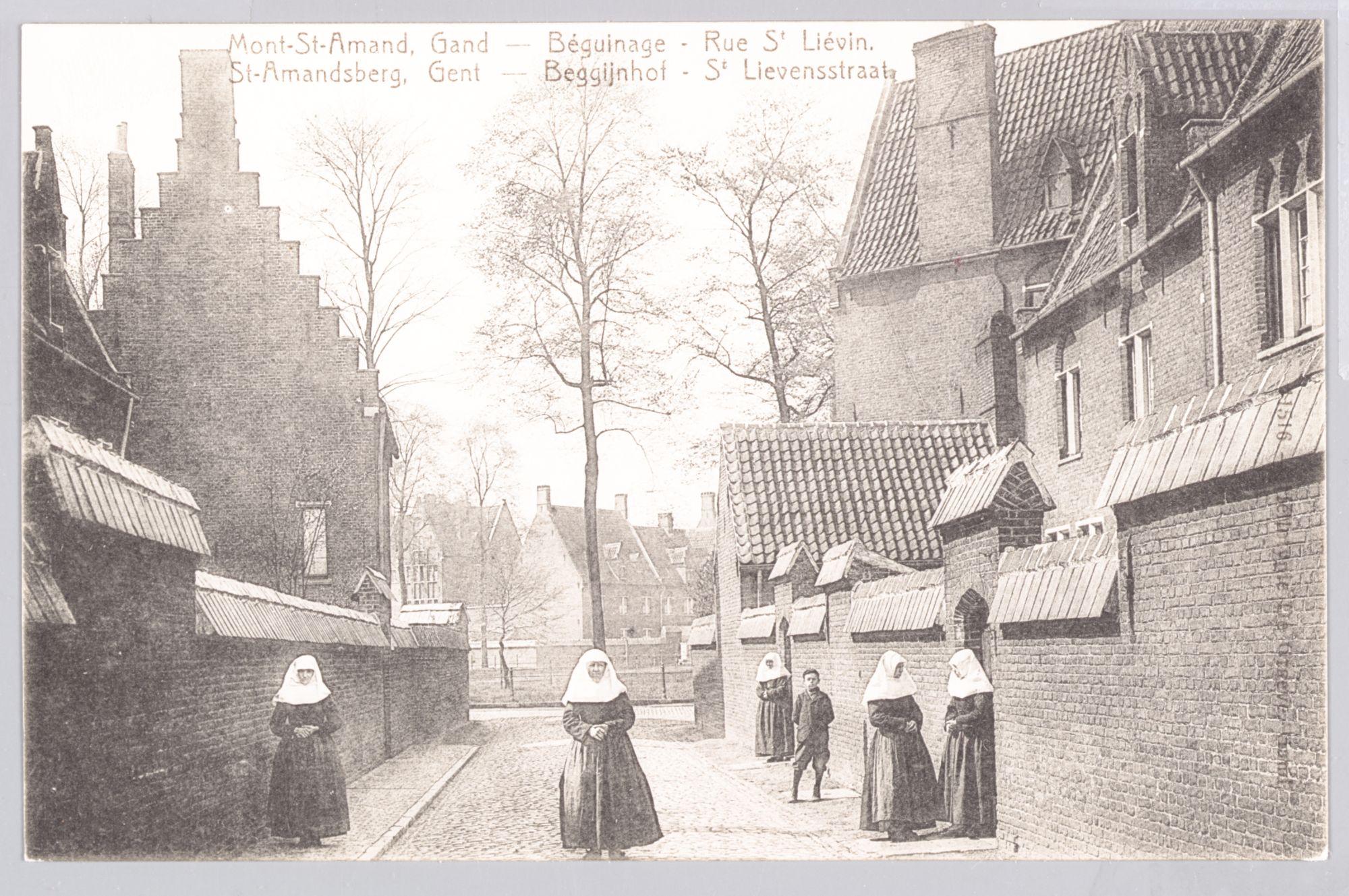 Sint-Amandsberg: Groot Begijnhof: Sint-Lievensstraat