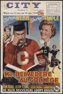 M. Belvedere Goes to College   Mr. Belvedere au collège   De heer Belvedere loopt college, City, Gent,13 - 19 januari 1950
