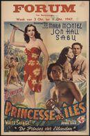 White Savage | Princesse des îles | De prinses der eilanden, Forum, Gent, 3 - 9 oktober 1947