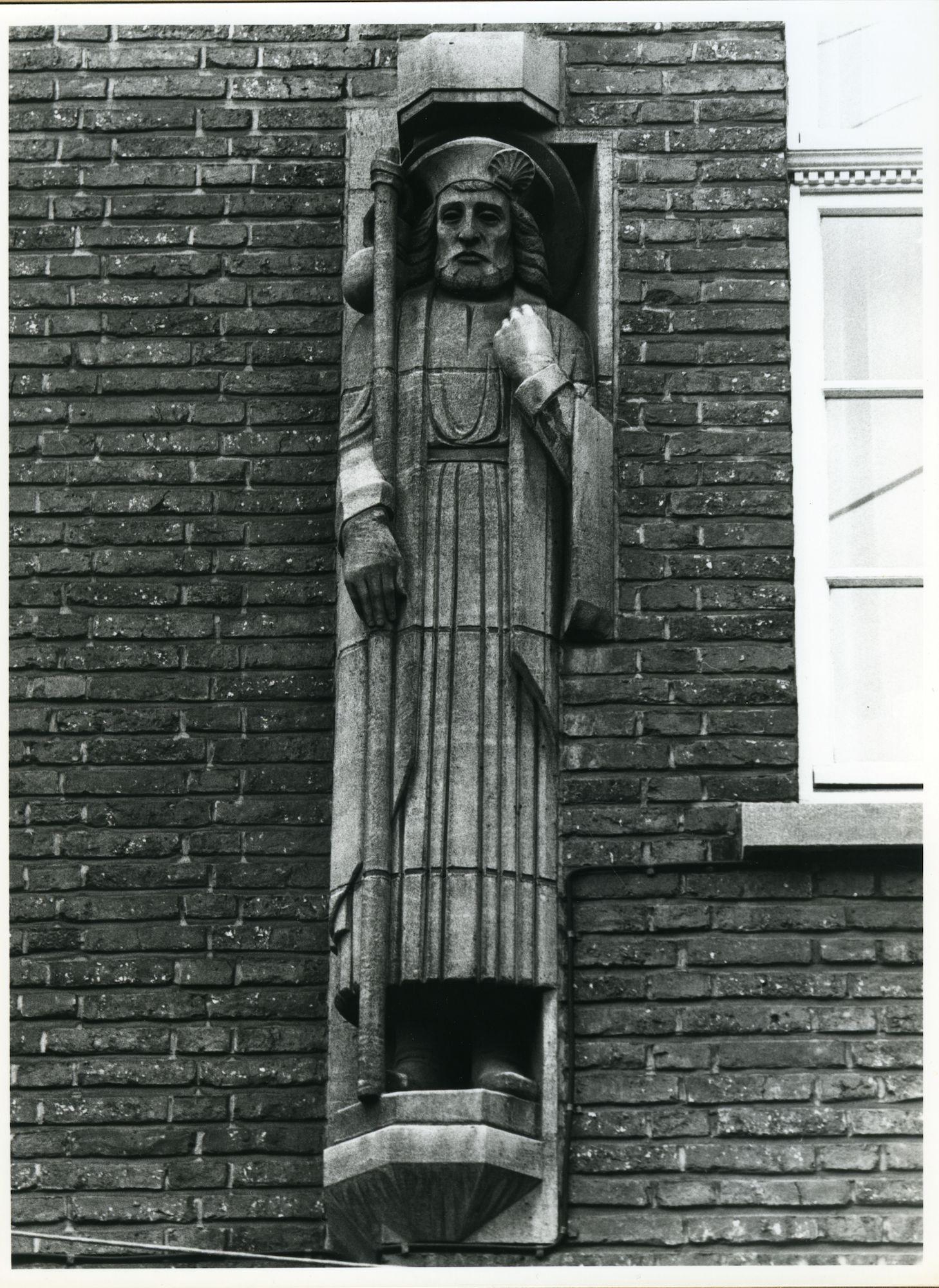 Gent: Steendam 11: Gevelbeeld