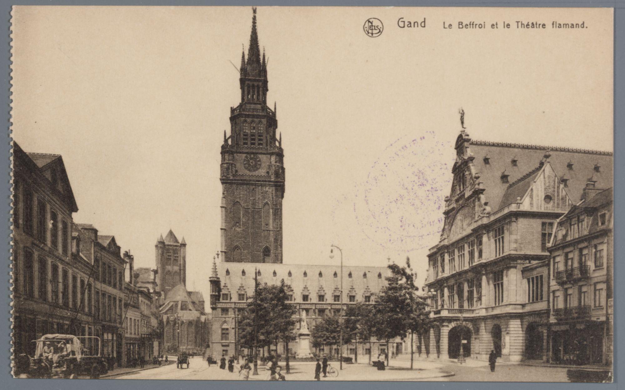 Gent: Belfort en Nederlandse Schouwburg
