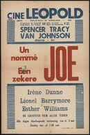 Un nommé Joe   Een zekere Joe, cine Leopold, Gent, 25 april - 1 mei 1947