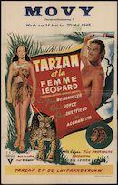 Tarzan and the Leopard Women | Tarzan et la femme léopard | Tarzan en de luipaard vrouw, Movy, Gent, 14 - 20 mei 1948
