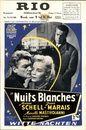 Nuits Blanches   Witte nachten, Rio, Gent, 9 - 15 mei 1958