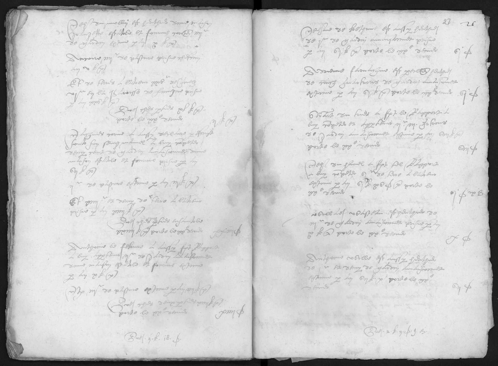 Kohier van de 20ste penning in Herseaux (Herzeeuw) (kasselrij van Kortrijk), 1572