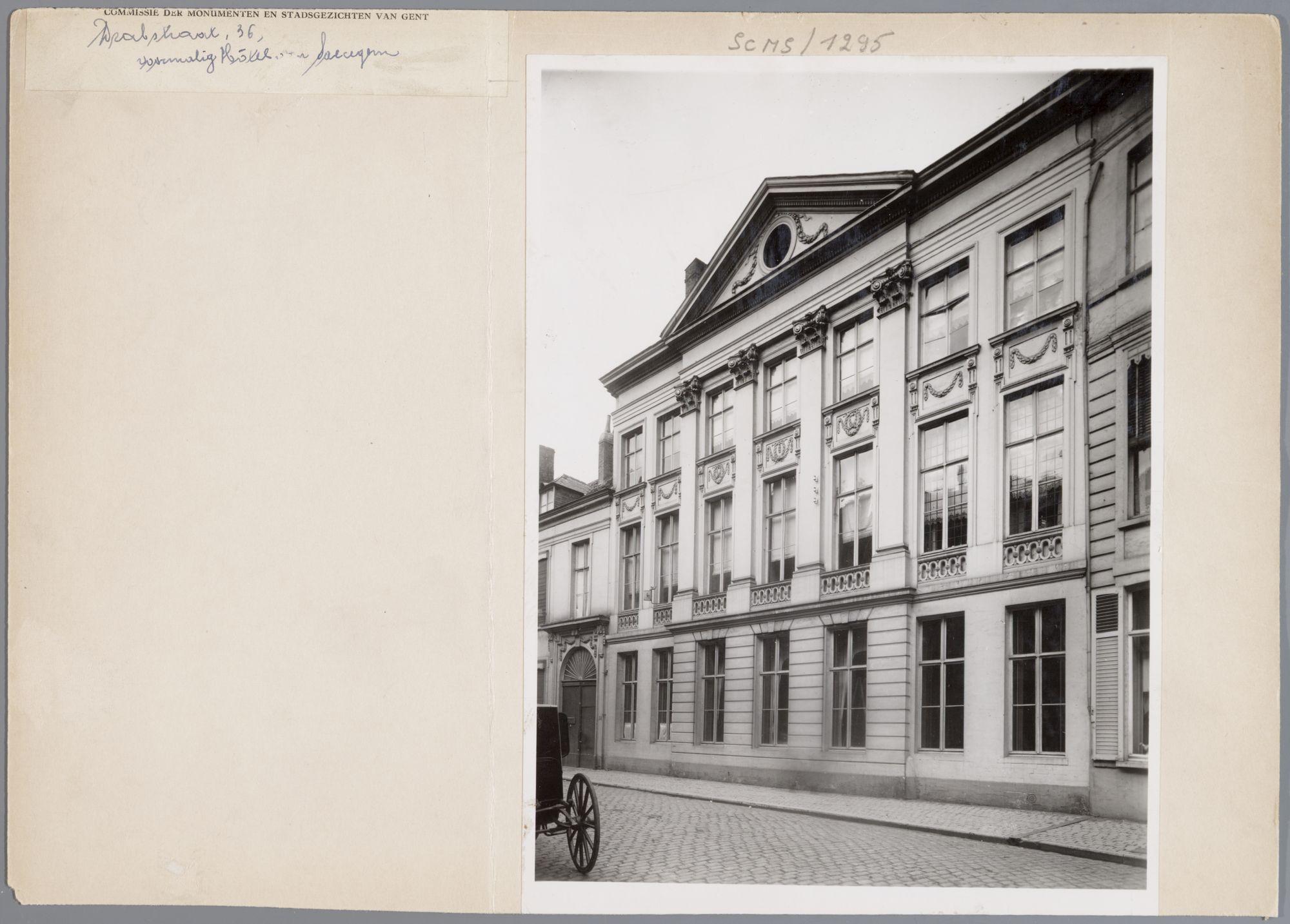 Gent: Hotel van Staecegem, Drabstraat