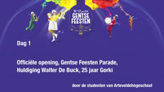 Gentse Feesten 2014 dag1 ArteveldeHogeschool.mov