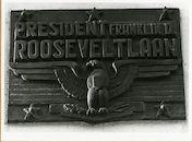 Gent: Franklin Rooseveltlaan 346: straat naamplaat