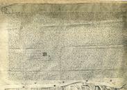Charter, met zegels, fotografische reproductie