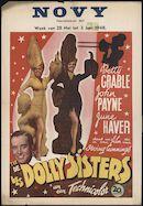 The Dolly Sisters | Les Dolly Sisters | De Dolly Sisters, Novy, Gent, 28 mei - 3 juni 1948