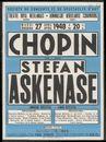 Chopin door Stefan Askenase, Théâtre Royal Neerlandais (Koninklijke Nederlandse Schouwburg), Gent, 27 april 1948