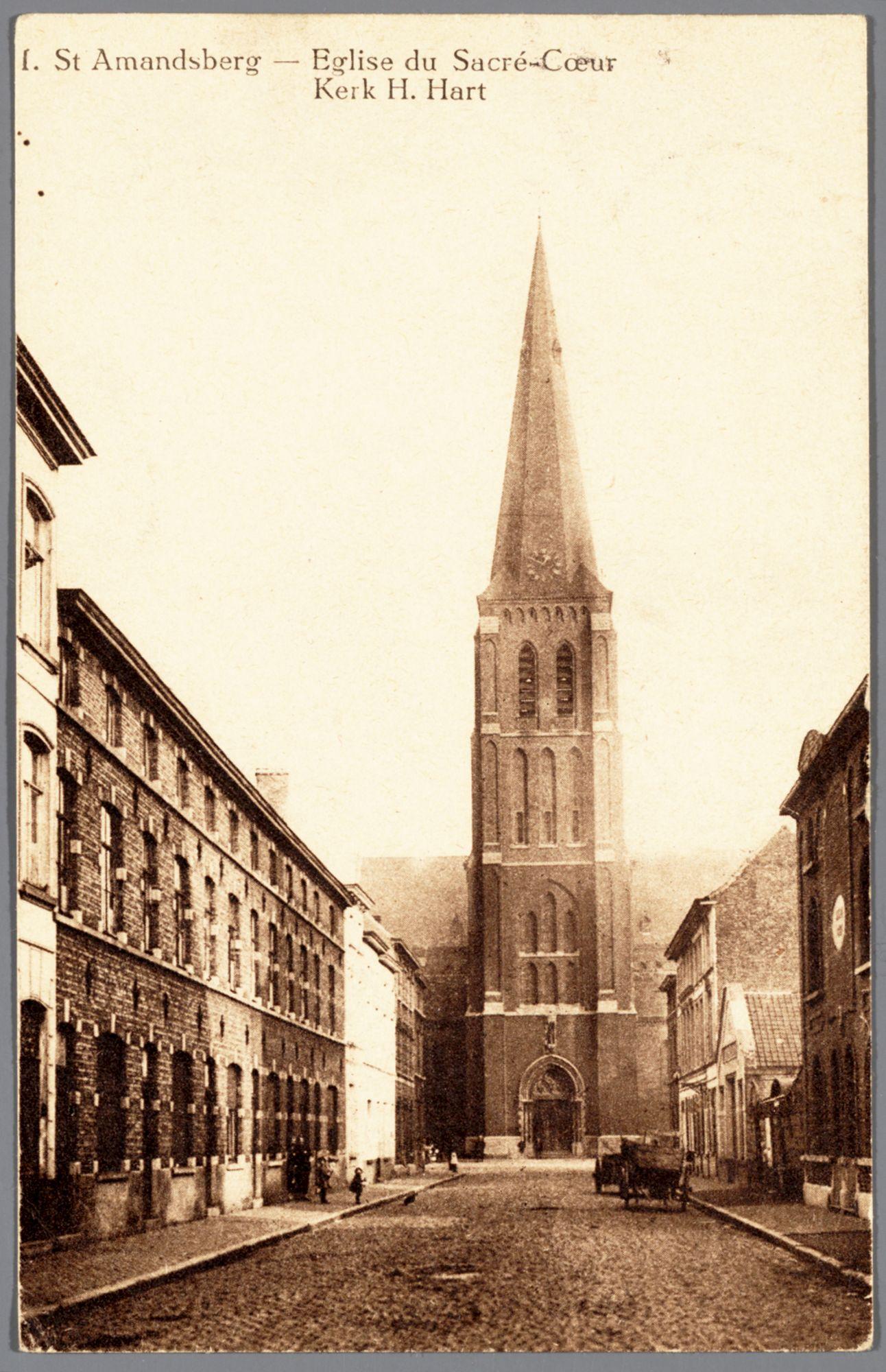 Sint-Amandsberg: Heilig-Hartkerk