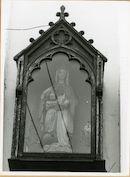 Gent: Krijgsgasthuisstraat: Gevelkapel, 1979