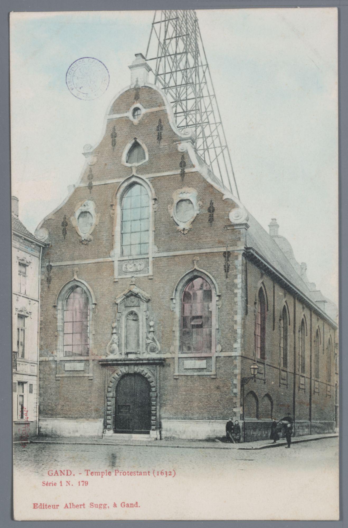 Gent: Brabantdam: vroegere Kapucijnenkerk, protestantse kerk