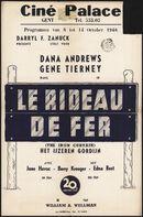 The Iron Curtain   Le rideau de fer   Het ijzeren gordijn, Ciné Palace, Gent, 8 - 14 oktober 1948