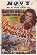 They Met in Argentina   L'amour fleurit en Argentine   Liefde bloeit in Argentina, Novy, Gent, 29 oktober - 4 november 1948