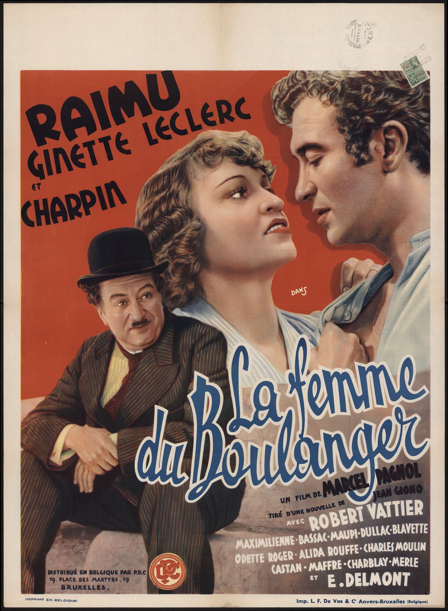 La femme du boulanger, Gent, februari 1939
