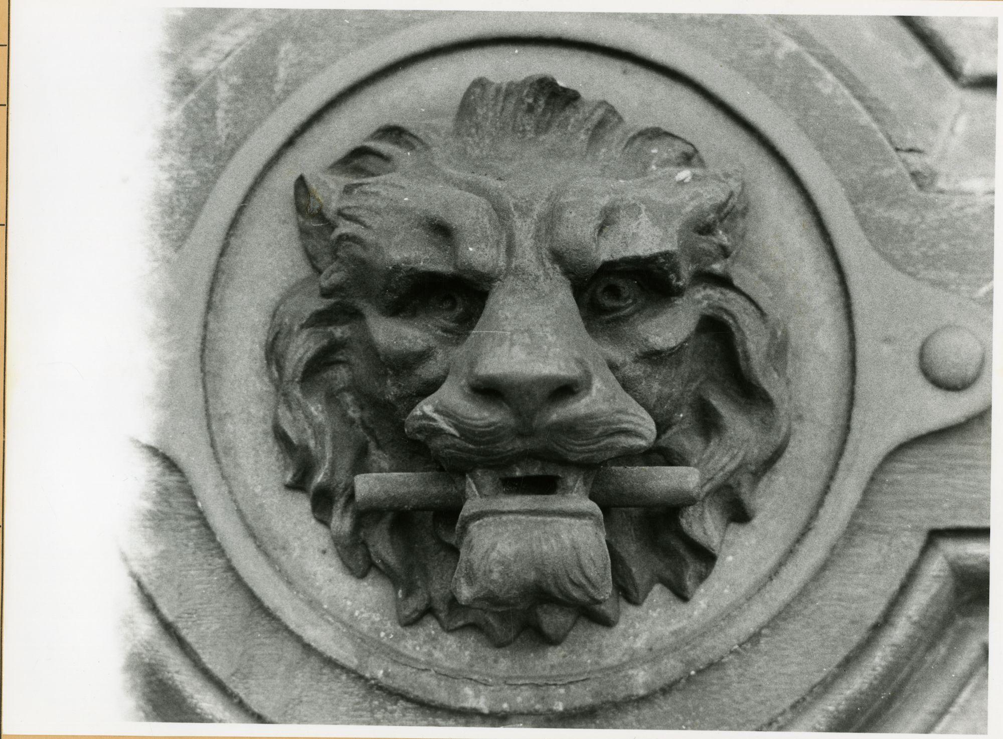 Gent: Jozef Plateaustraat: Deurgreep, 1979