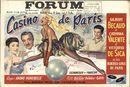 Casino de Paris, Forum, Gent, 31 januari - 4 februari 1958