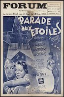 Thousands Cheer | Parade aux etoiles, Forum, Gent, 25 - 28 september 1953