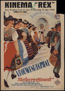 Weiberregiment | Vrouwenregiment, Gent, Kinema Rex, 4 - 10 juni 1943