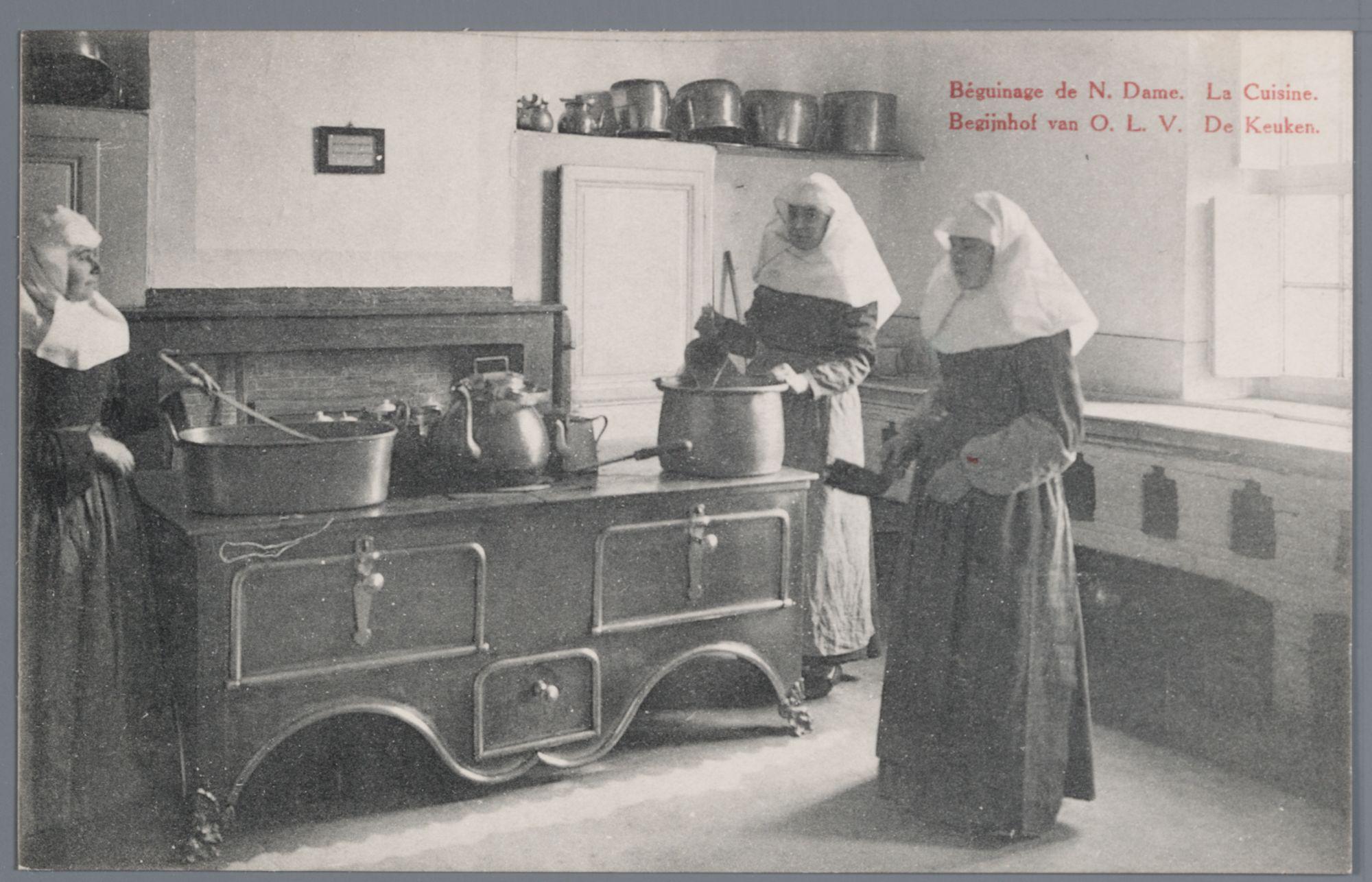 Moderne Keukens Gent : Afbeelding gent klein begijnhof onze lieve vrouw ter hooie