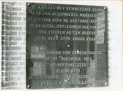 Mariakerke: Van Tieghem De Ten Berghepark: Gedenkplaat, 1979