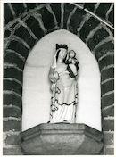 Sint-Denijs-Westrem: Kerkdreef: Gevelbeeld, 1979