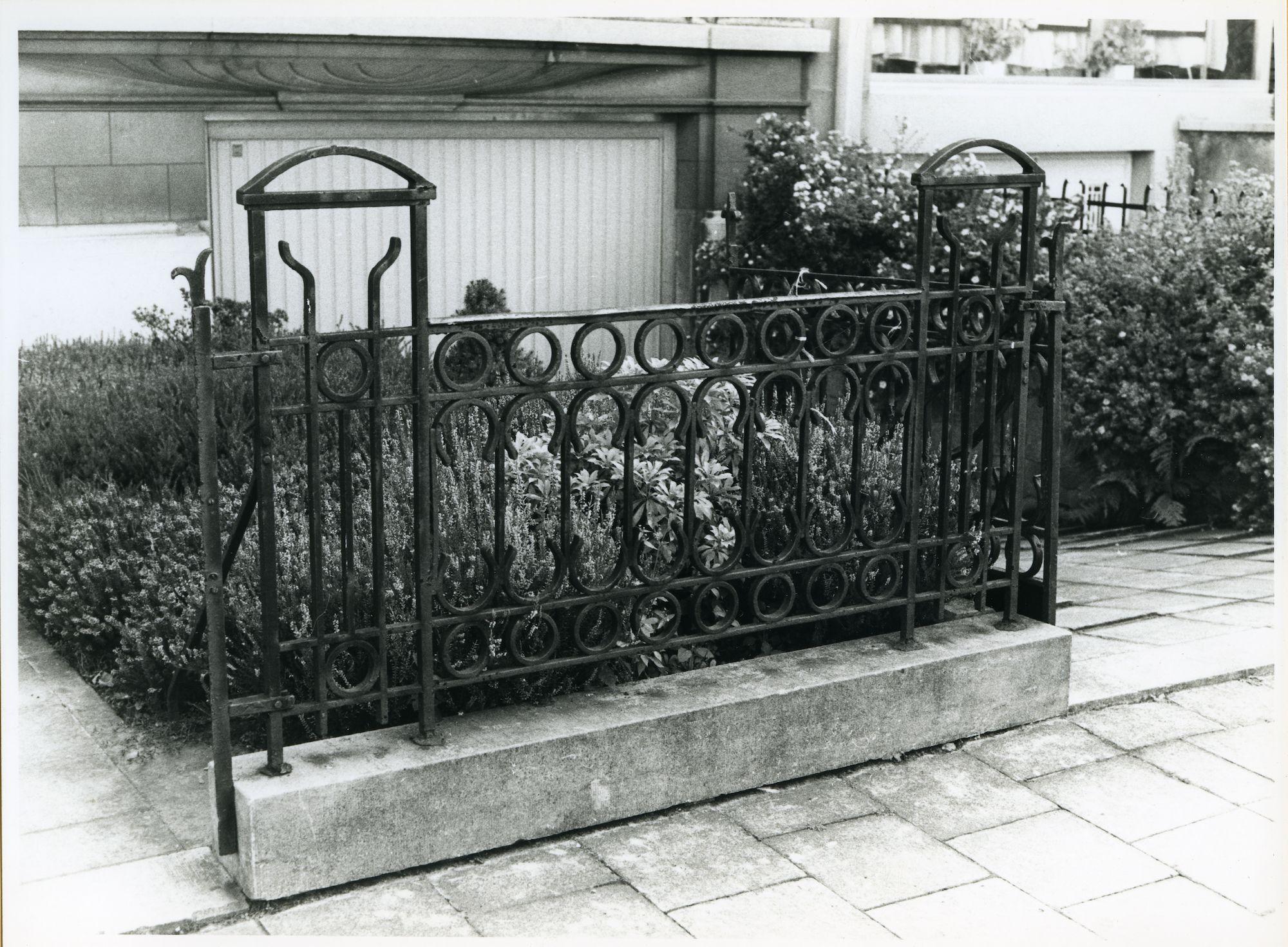 Gent: Onafhankelijkheidslaan 7: Hek, 1979