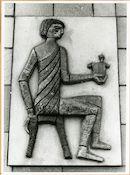 Gent; Galgenberg 2: reliëf: Egyptische kruidenbereider