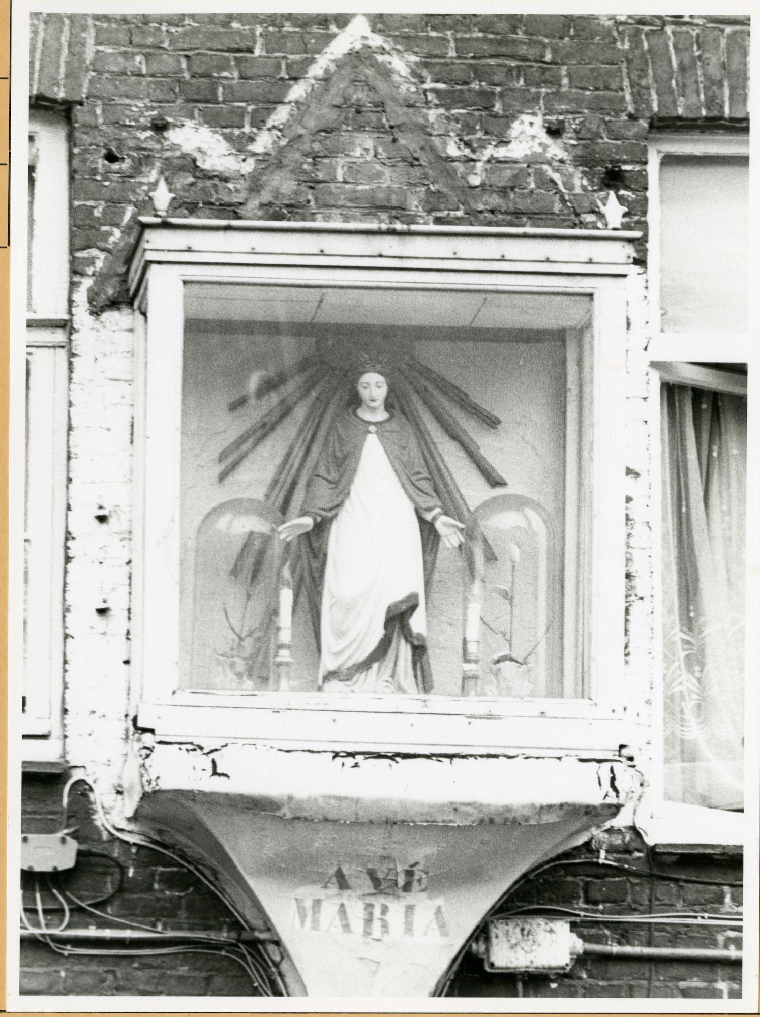 Gent: Kasteellaan 114: Gevelkapel, 1979