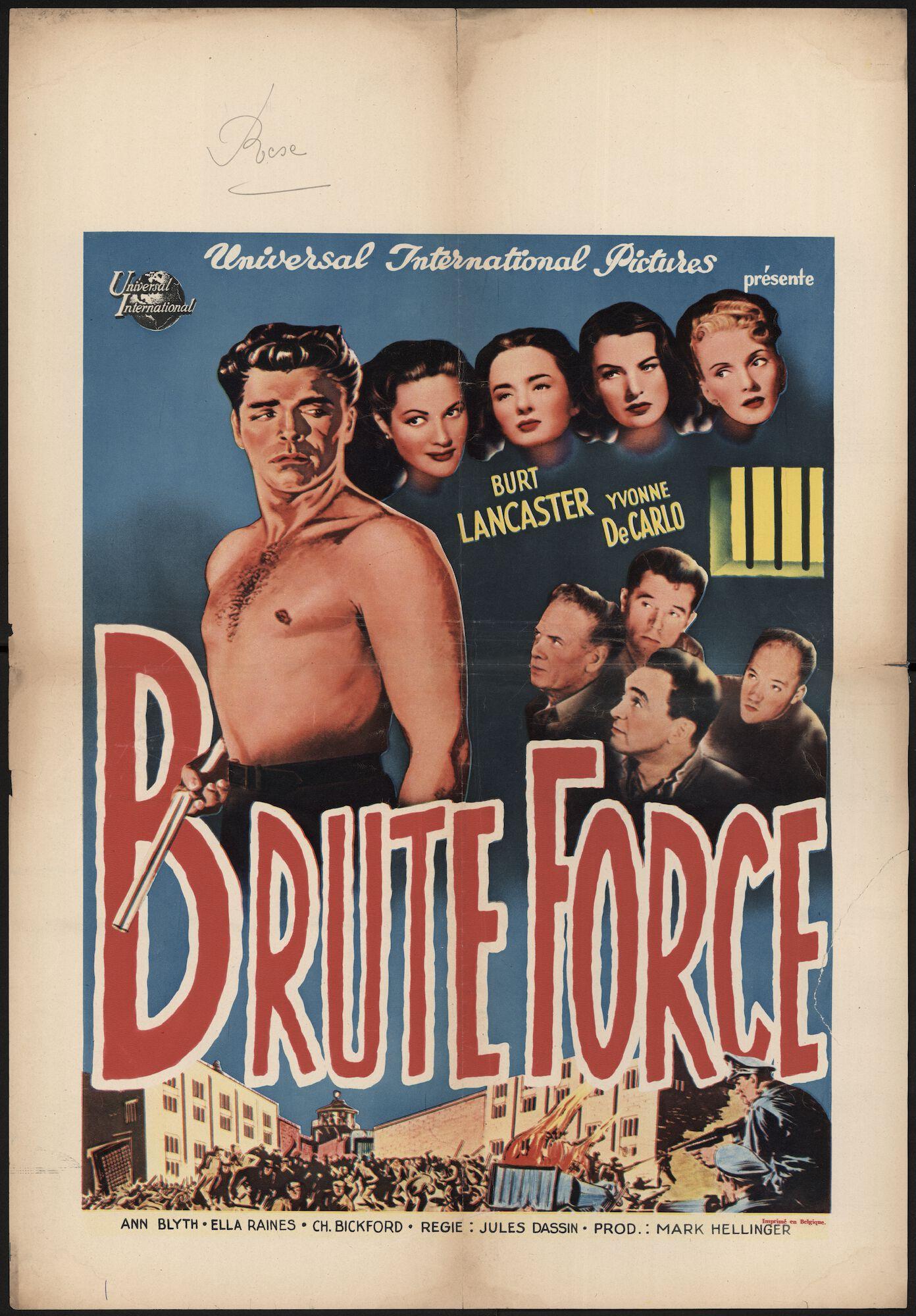 Brute Force, Rex, Gent, mei 1948