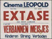 Extase (film 1), Verbannen meisjes (film 2), Cinema Leopold, Gent, oktober 1948